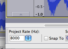 Project rate